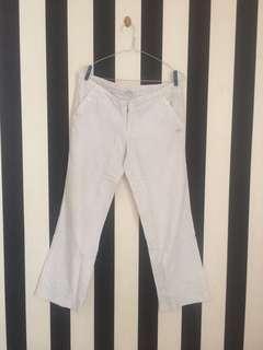 White Corduroy Pants | Celana Korduroi