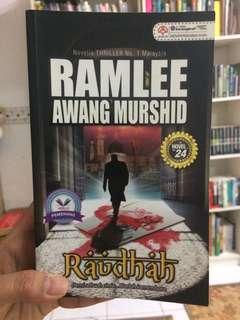 Raudhah. Sign by writer of the book
