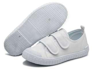 🚚 White school shoes size 34