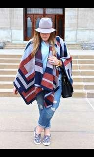 Topshop Oversized Poncho/Cape