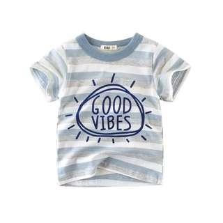 💎Free Gift💎 1-10 Years Baby Kids T-Shirt Boys Short Sleeved Cotton Top