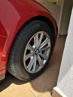 BMW F30 Rim can fit a few type of version