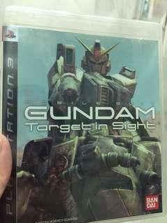 PS3 Game Gundam Target in Sight