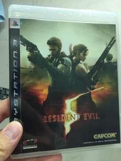 PS3 Game Resident Evil 5 Capcom
