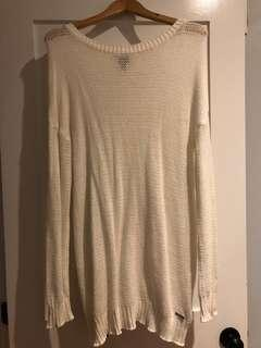 White Sweater dress from Bench