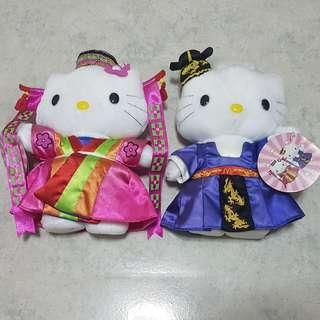 $6 each. Limited edition Hello Kitty Mcdonald Korea Millenia Year 2000 wedding.