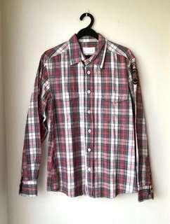 🚚 Mooks Checkered Shirt