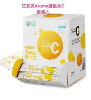 韓國連線艾多美Atomy 維他命C 2g單包入現貨