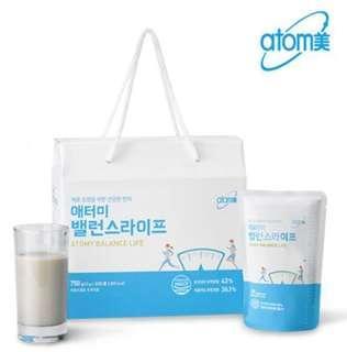 🚚 韓國連線⚡️最佳代餐⚡️艾多美Atomy綜合穀物飲30入裝(現貨)