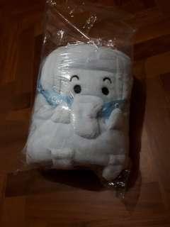 Fleece blanket / towel for babies