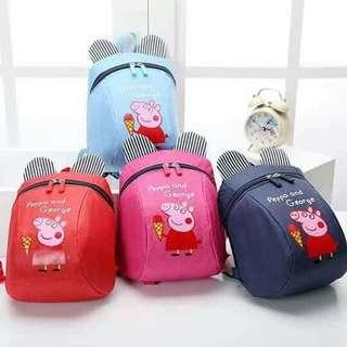 Peppa Pig Backpack with Antilost