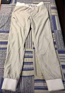 MEN'S: H&M Light Khaki Jogger Pants