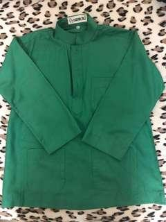 Baju Melayu budak Omar Ali / size6 / green