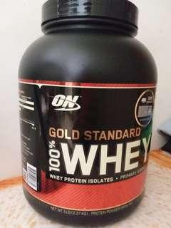 Optimum Nutrition Gold Standard 100% Whey Protein Isolates ~ Double Rich Chocolate favour