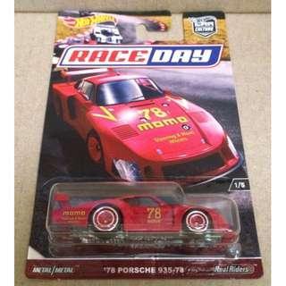Hot Wheels Car Culture Race Day '78 Porsche 935-78.