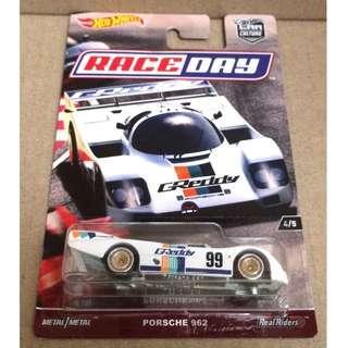 Hot Wheels Car Culture Race Day Porsche 962.
