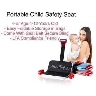 🚚 Portable Child Safety Seat