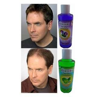 HAIR LOSS solution. All herbal butterfly pea and begamot