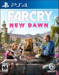🚚 Far Cry New Dawn - PS4 - Brand New Sealed