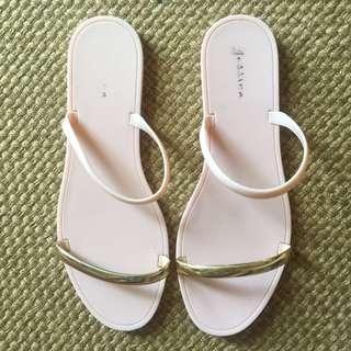 Millenial Pink Sandals