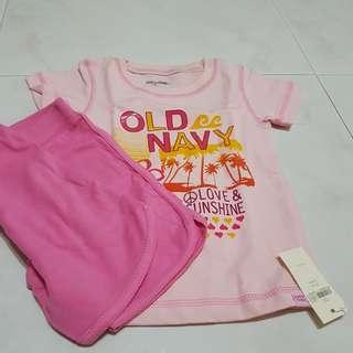 Brand new - Girl shorts set (2T)