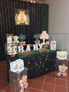 Baby 1st birthday party