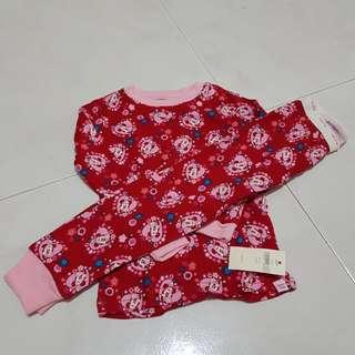 Brand new - Girl long sleeve pajamas PJ (2T)