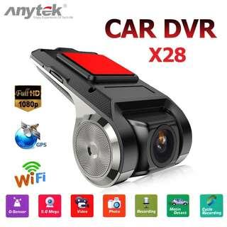 X28 Full HD WDR Car DVR Dash Cam For Android Car Monitor Player