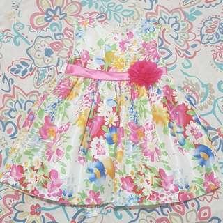 FORMAL FLORAL BABY DRESS