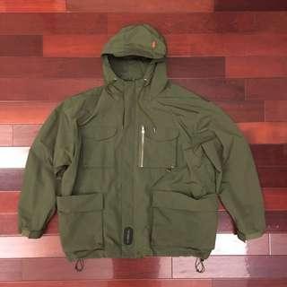 🚚 INTERBREED Multifunction Field Jacket 軍綠 風衣 外套