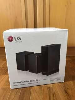 🚚 LG SPK8-S sound bar wireless rear speaker kit 140 watts