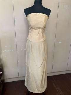 Yellow Motif Gown