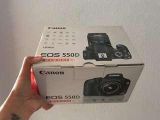 Canon eos 550D body only