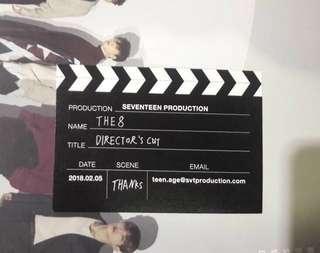 [WTT] Seventeen Director's Cut Album Business Card