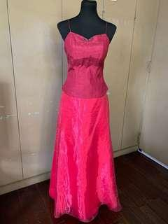 Pink Motif Gown