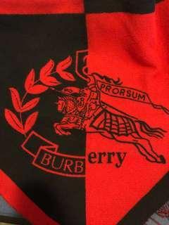 MAKR DOWN!!!Brand New Burberry bandana
