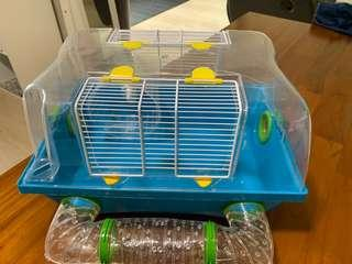 🚚 Hamster Cage