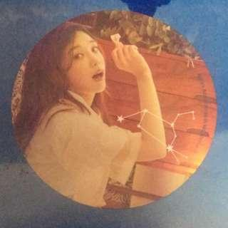 Jung eun ji signature card