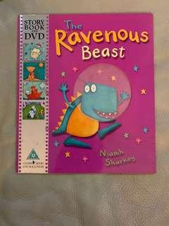 🚚 The Ravenous Beast Story book and DVD