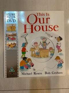 🚚 This is Our House Story book and DVD