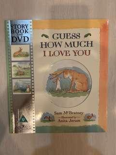 🚚 Guess How Much I Love You Story Book and DVD
