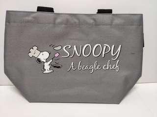 Snoopy 便當手提包lunch bag  / 小物袋