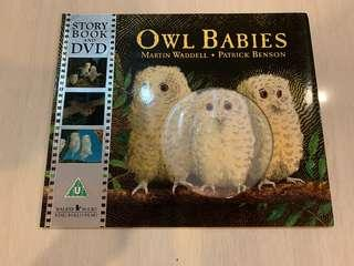 🚚 Owl Babies Story book and DVD