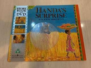 🚚 Handa's Surprise story book and DVD