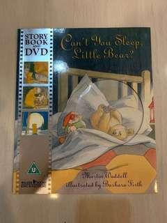 🚚 Can't You Sleep, Little Bear Story Book and DVD