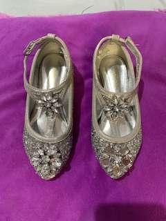 Monsoon Silver Shoes Size us7