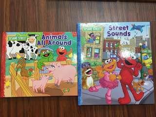 芝麻街 Sesame street英文繪本 近全新