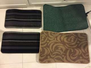 🚚 四個200 腳踏墊 地毯地墊 防滑墊 玄關浴室客廳臥室