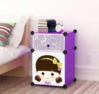 🚚 Bedside Cabinets Simple Fashion Children's Wardrobe