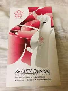 Deep cleansing device- blackheads removal